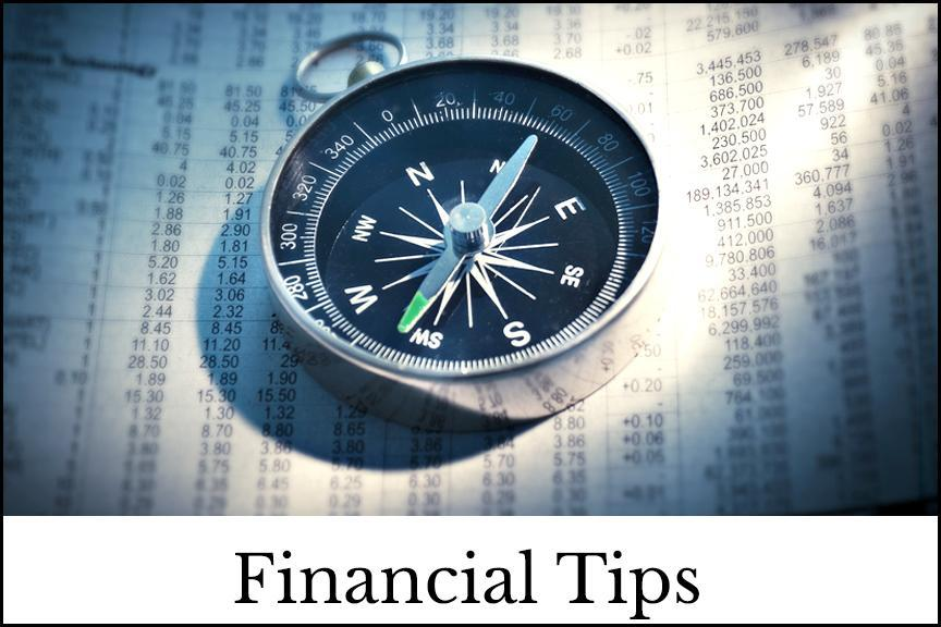 Financial Tips Image with outline